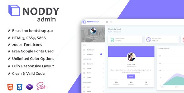 8+ Best Free Responsive HTML Admin Template 2019 | Codentheme